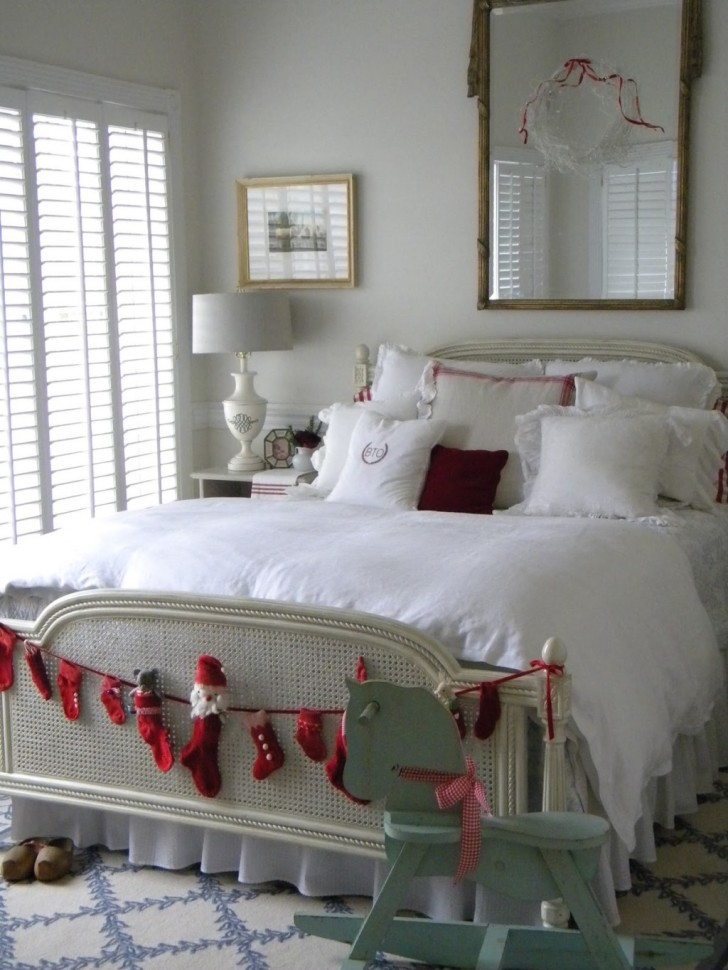 25 Christmas Bedroom Decorations Ideas Feed Inspiration