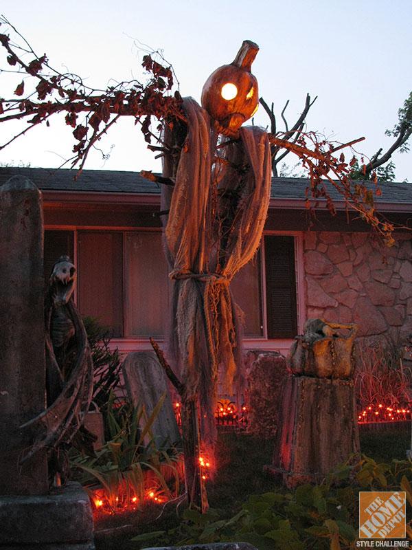 Outside Halloween Decorating Ideas