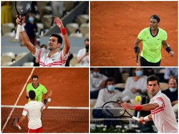 Moments When Novak Djokovic Outlasts 'King of Clay' Rafael Nadal In French Open 2021 Semi-Finals
