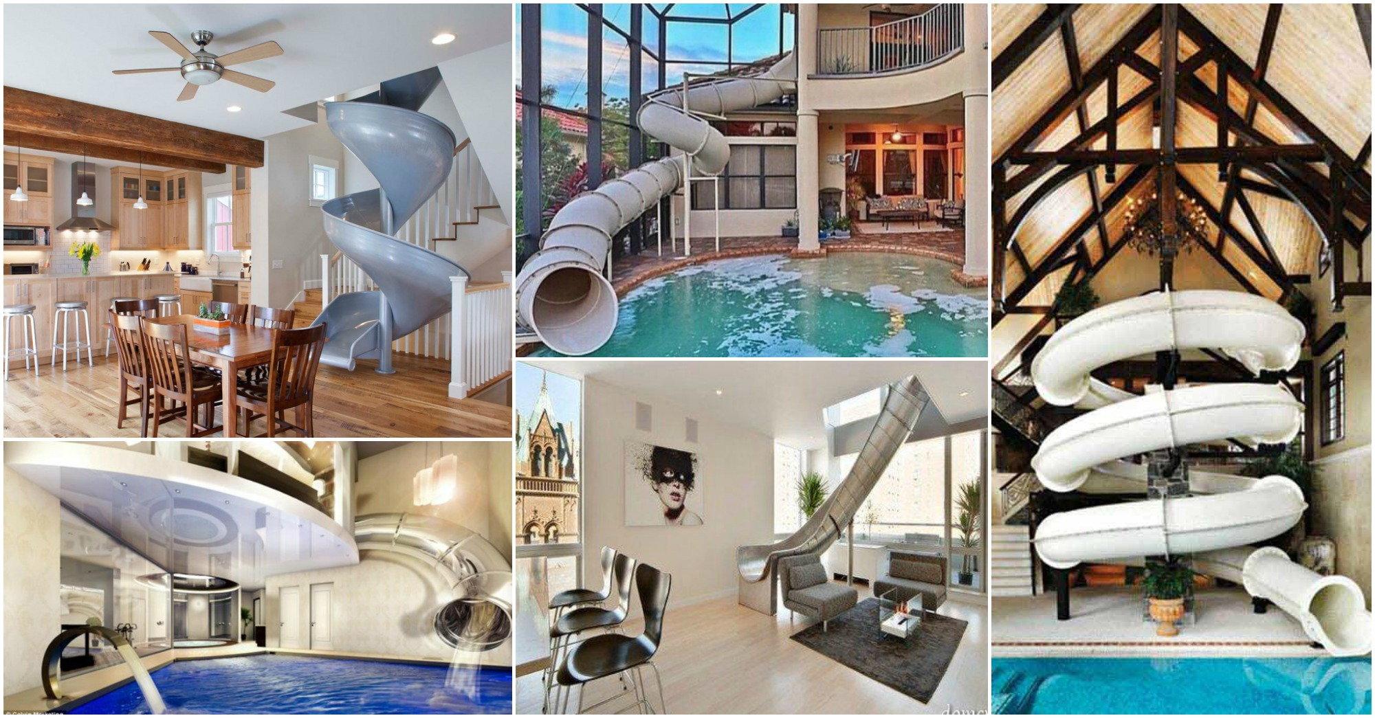 Crazy Indoor Slides That Will Make You Say Wow