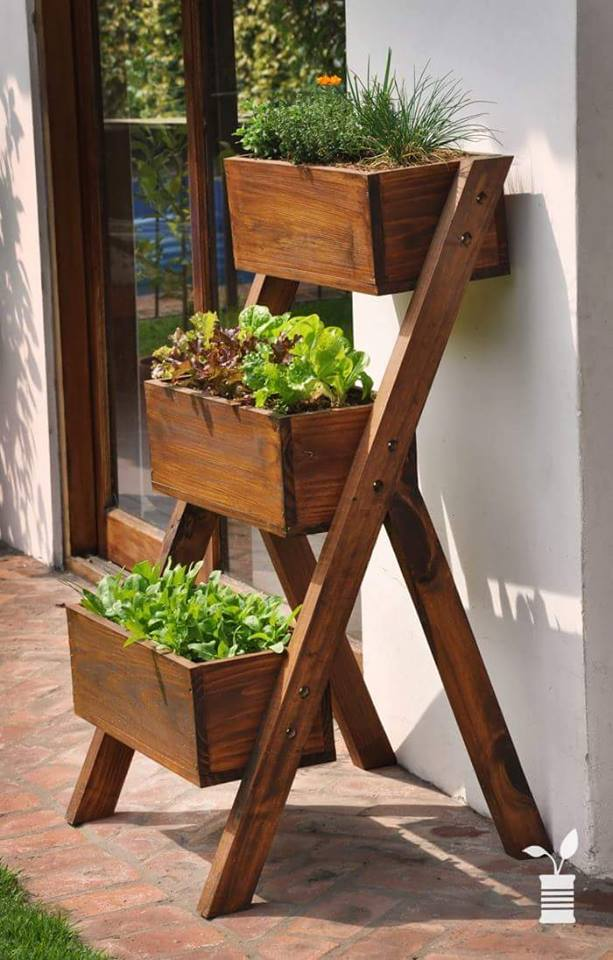 Wooden Garden Planters And Troughs
