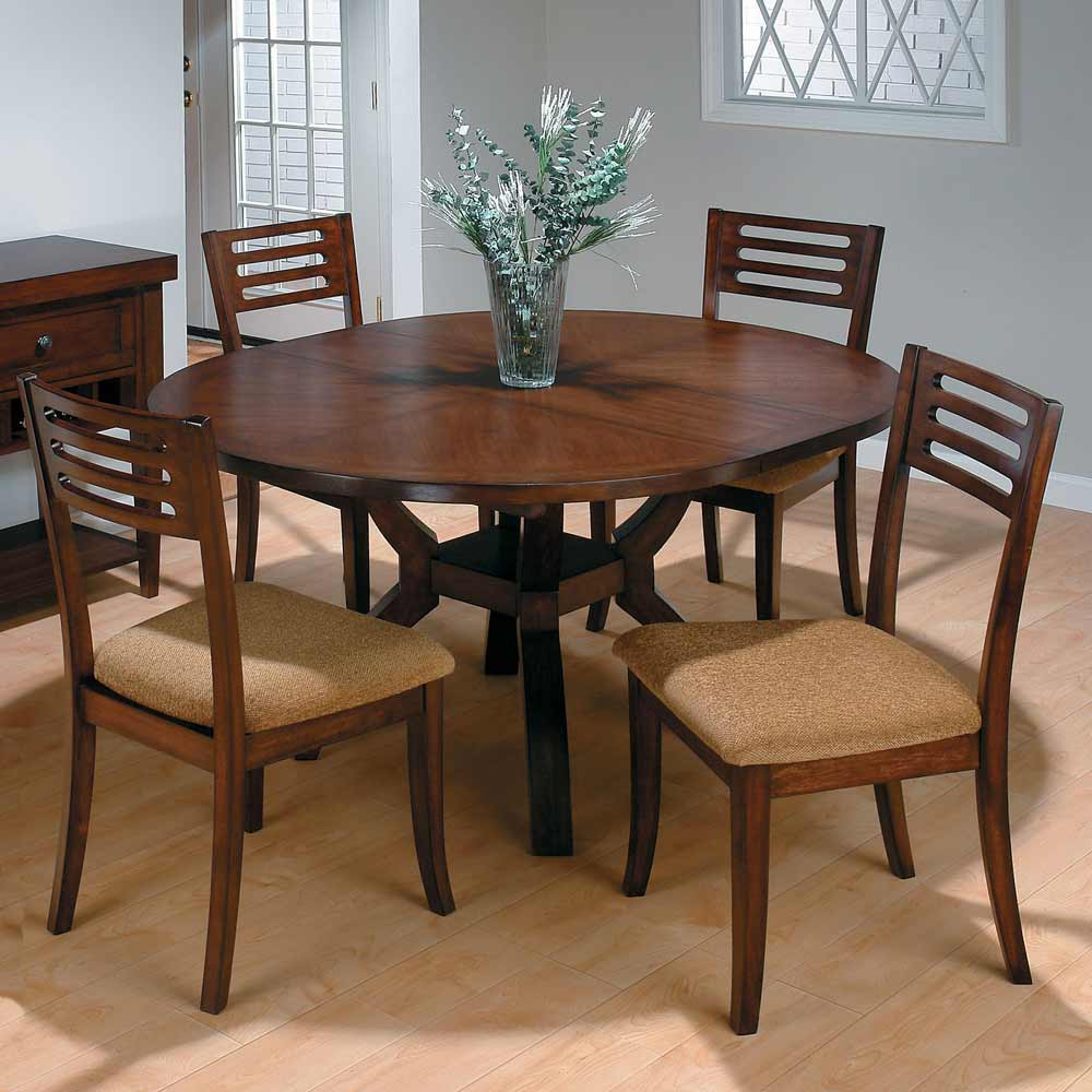 Round Dining Table Rectangular Room