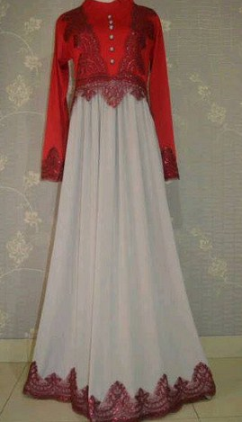 Image Result For Model Baju Gamis Brokat Panjang