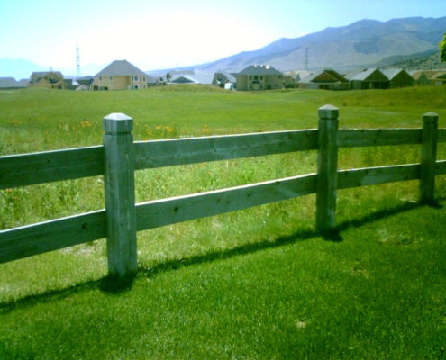 Wood Ranch Rail Fence Fence Deck Supply - Best Outdoor Furniture