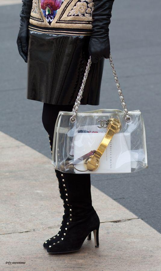 See Through Handbag Chanel