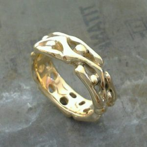 unique custom wedding ring