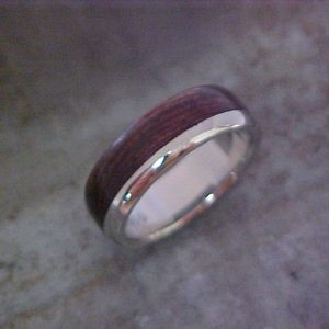 custom wood weddnig band