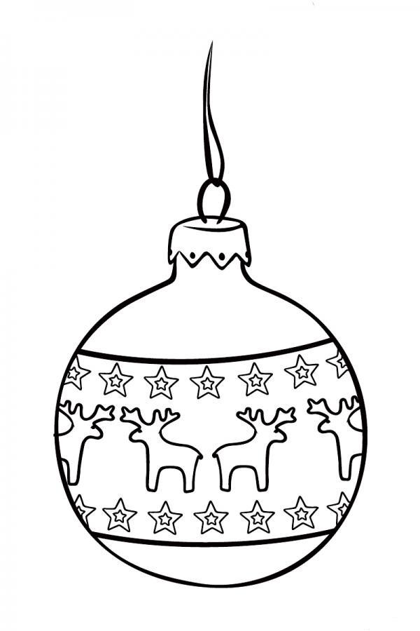 Рисуем Ёлочные игрушки на Новый год