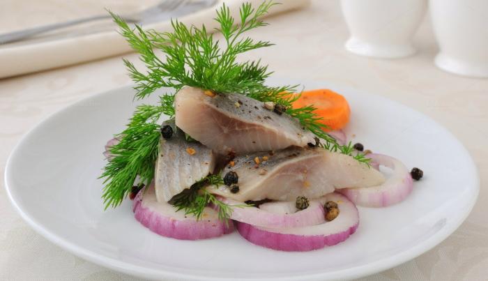 Ukrainian: to Soleny herring