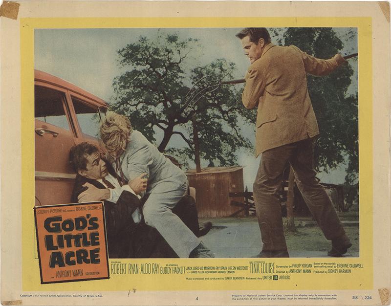God's Little Acre 1958 Original Movie Poster #FFF-41023 ...