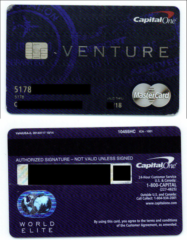 Capital One Rewards Card