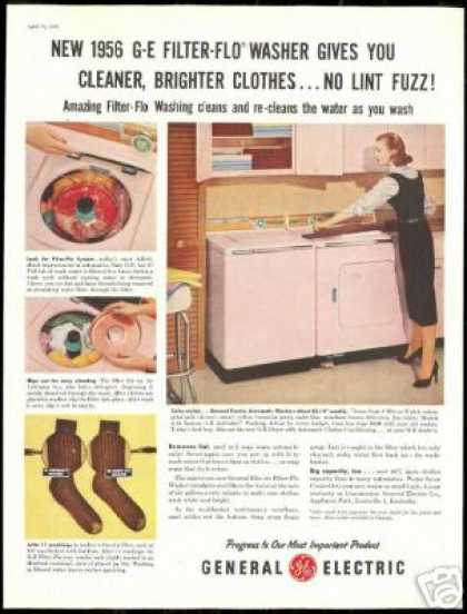 Stove 1957 General Electric