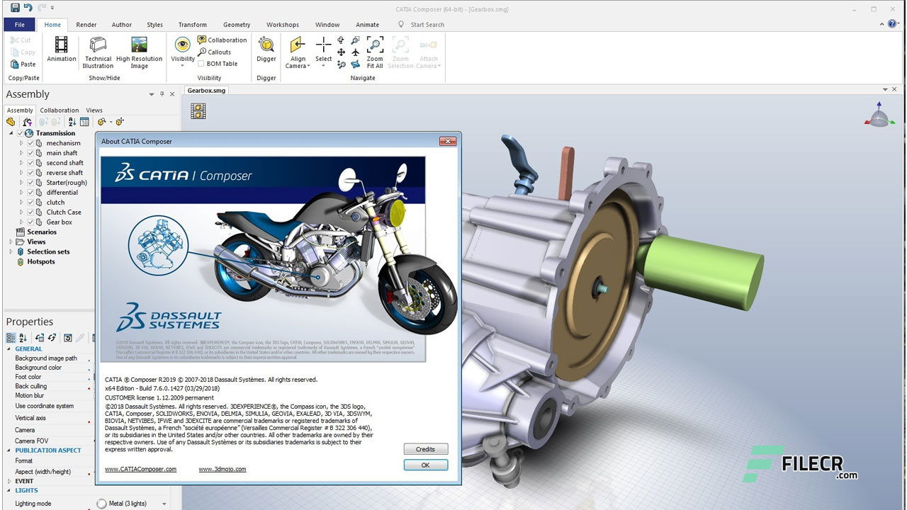 Free Download DS CATIA Composer 2019 Full Version