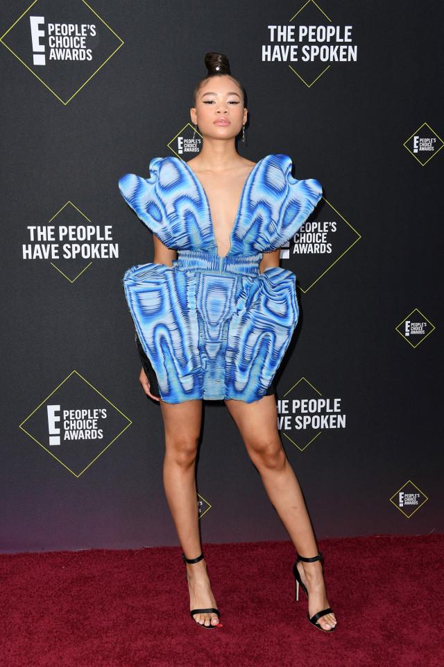 What Bonang Matheba, Asante Blackk and other stars wore to E! People's Choice Awards 2019 ...