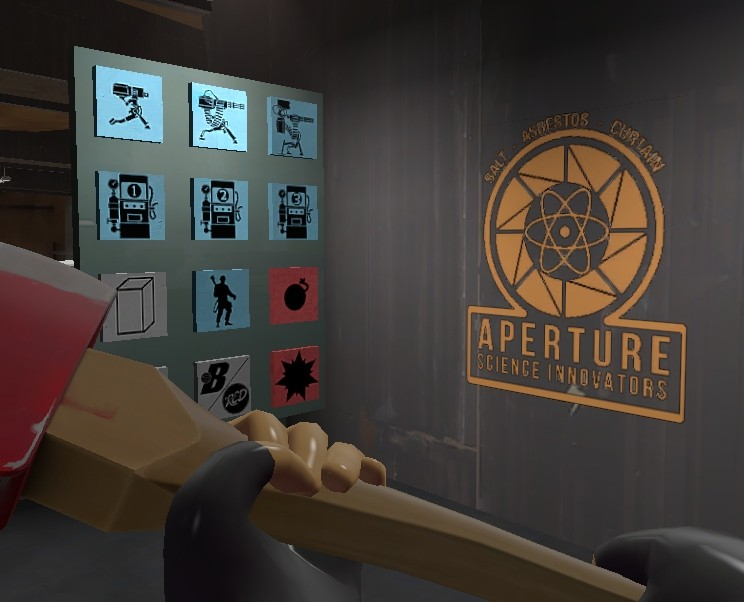 Aperture Science Innovators Team Fortress 2 Sprays