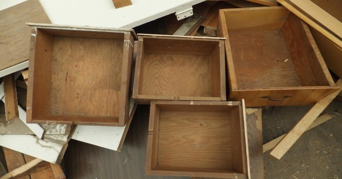 Geniale Ideen zur Wiederverwertung alter Schubladen.