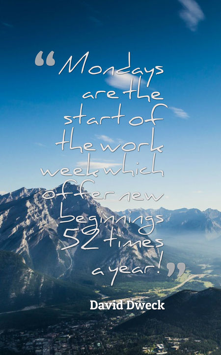 Image of: Monday Motivation Quotes Monday Quotes Planet Of Success 65 Inspirational Monday Quotes To Boost Your Motivation