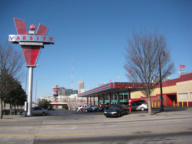 List Fast Food Places