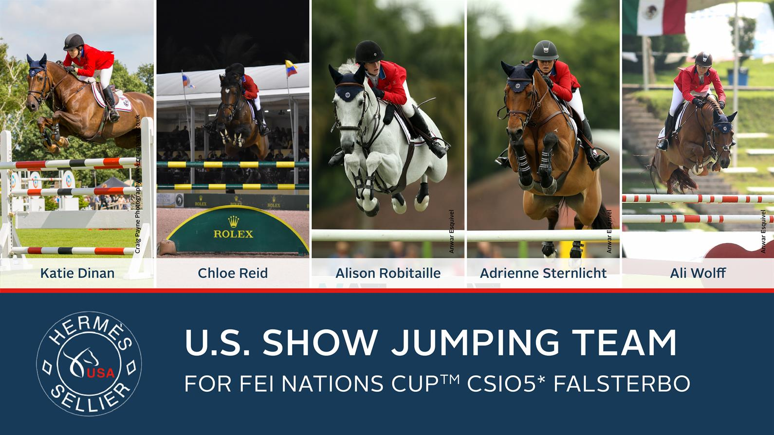 Us Equestrian Announces Herm 232 S U S Show Jumping Team For