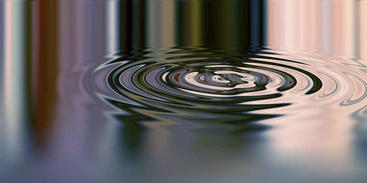 Pebble Effect And Ripple