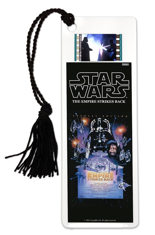 Star Wars Metal Bookmark