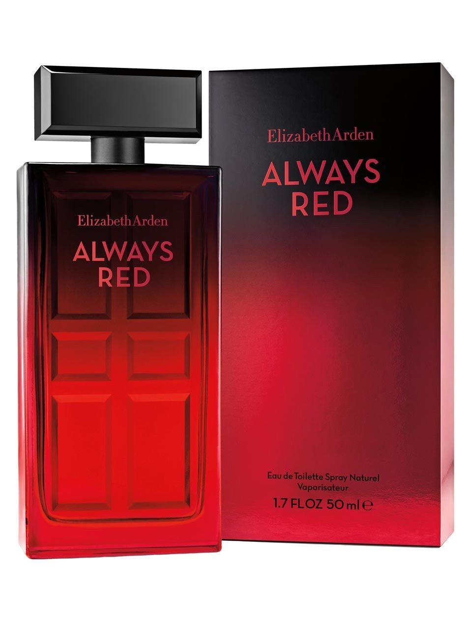 Always Red Elizabeth Arden perfume - a new fragrance for ...