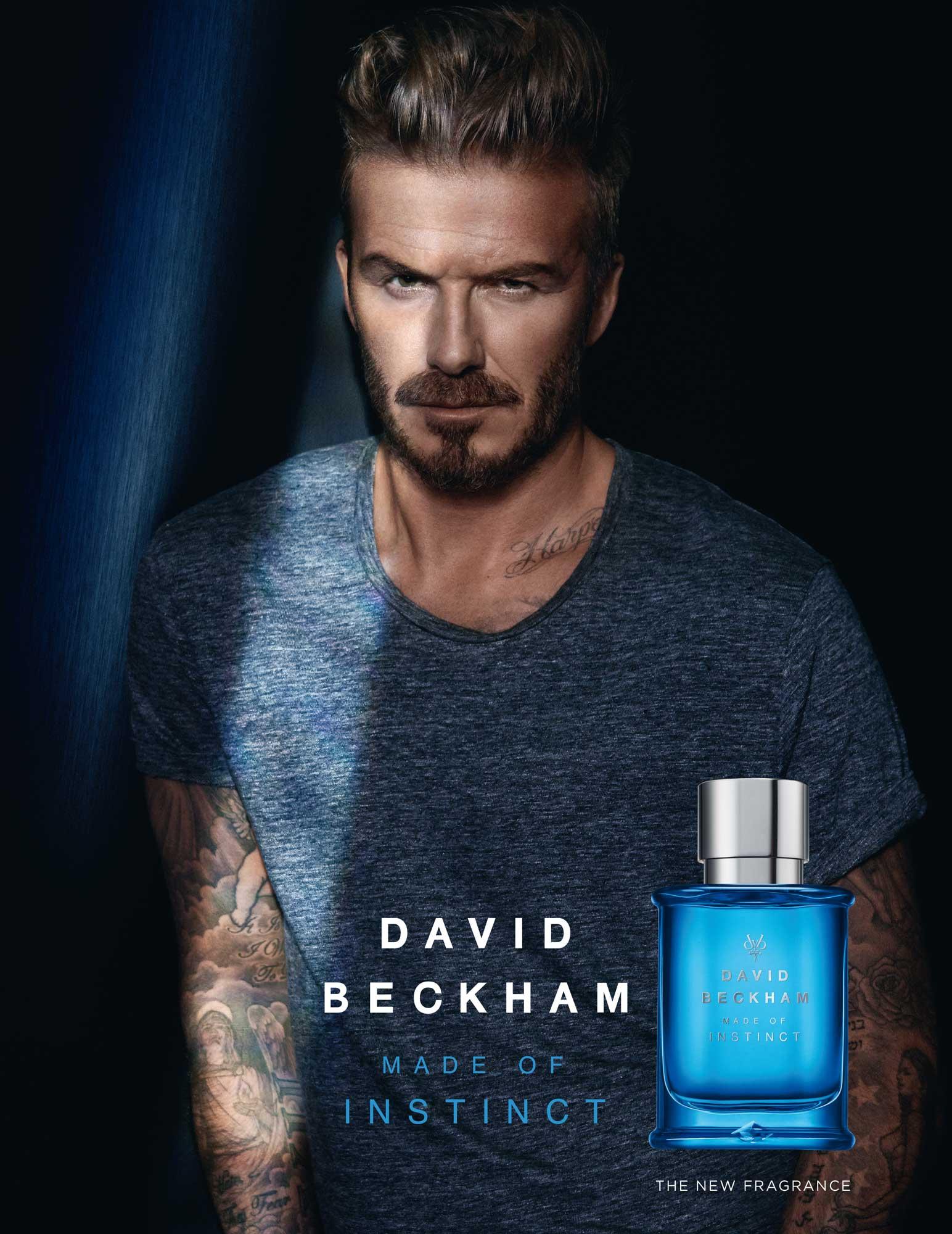 Made of Instinct David Beckham cologne - a new fragrance ...
