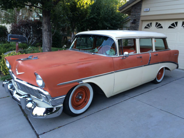 1956 Wagon Air Chevy Bel Station