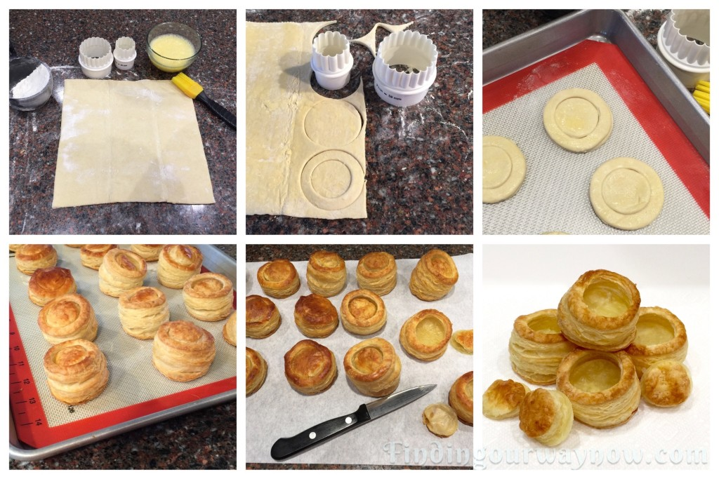 Homemade Puff Pastry Shells: #Recipe - Finding Our Way Now