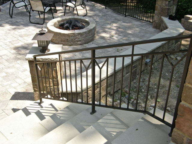 Exterior Contemporary Railings Finelli Ironworks | Modern Outdoor Stair Railing | Front Door | Outer | Cool | House | Craftsman Style