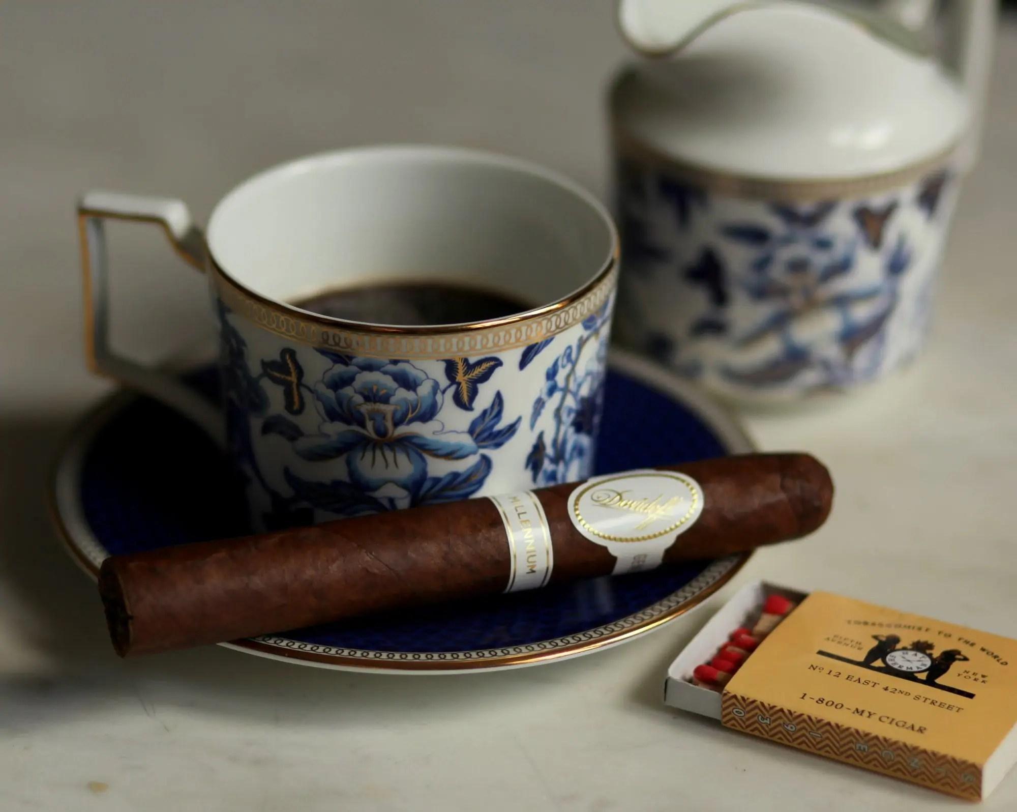 Davidoff Millennium Blend Toro Review - Fine Tobacco NYC