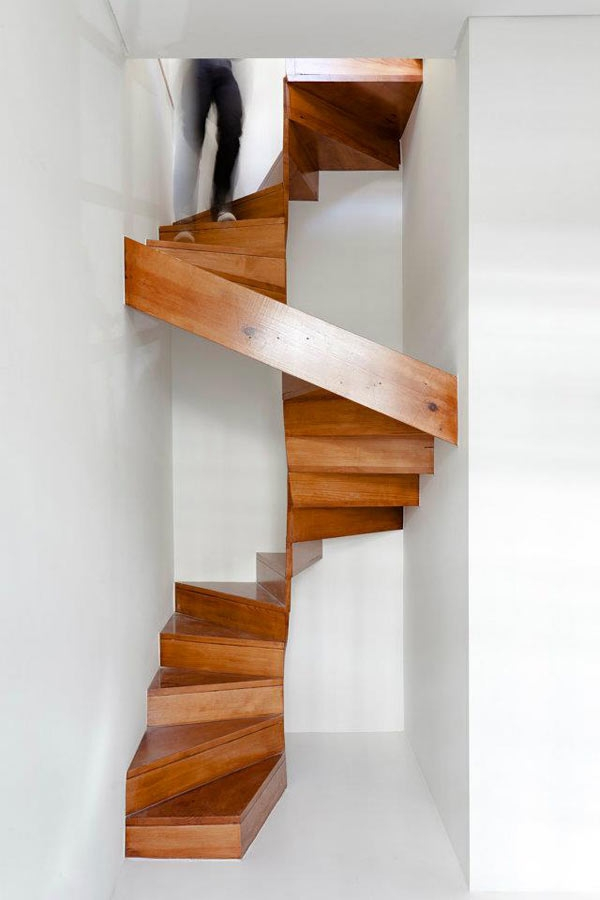 10 Ways To Make Your Staircase A Showstopper – The Finishing Store   Spiral Staircase Design For Small Spaces   Diseños   Cool   Tiny House   Attractive   Beautiful