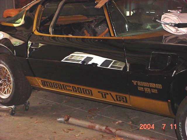 Racing Trans Seats 1978 Am