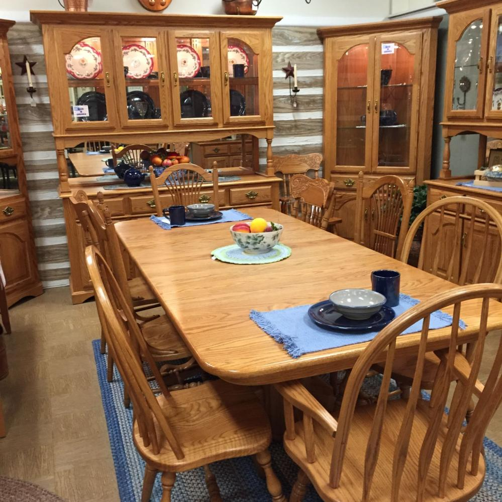 Solid Wood Mission Dining Table