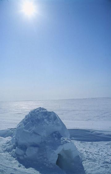 Canada Igloo Northern Lights