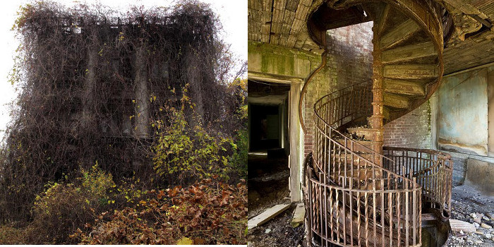 Lost World Of North Brother Island This Eerie Abandoned