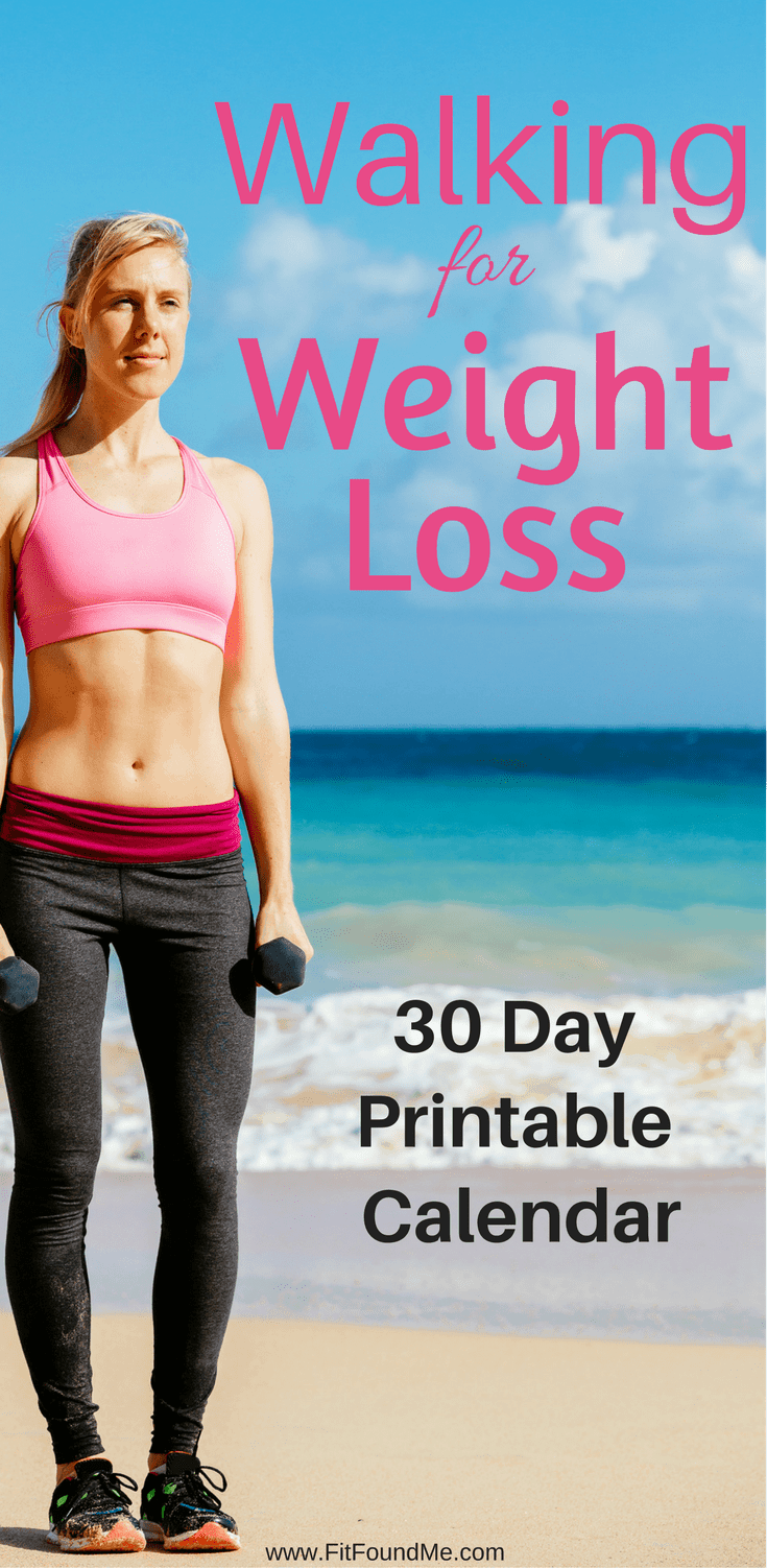 lose weight by walking