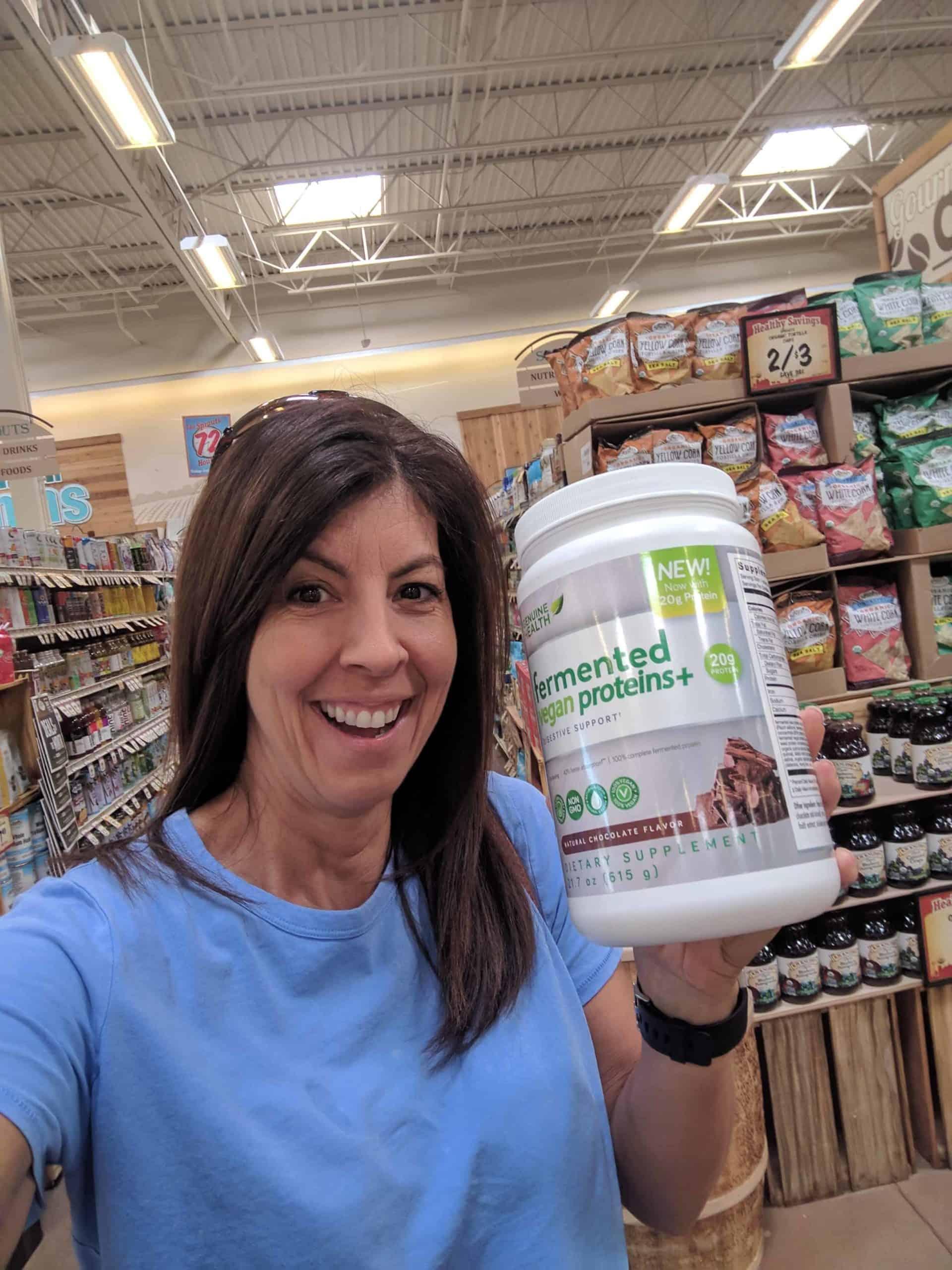 fermented vegan proteins+