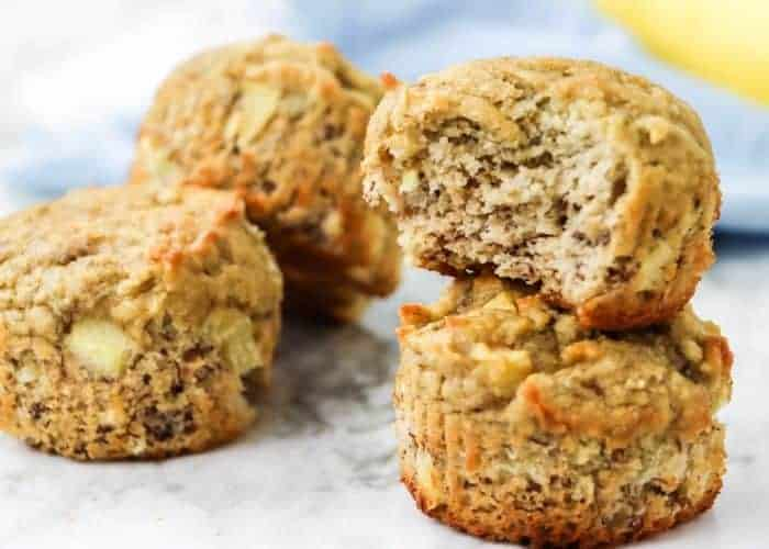 easy healthy banana muffins ready to eat