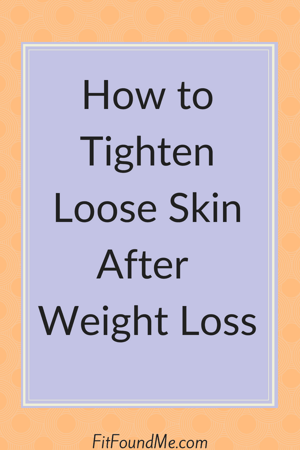title image of how to tighten loose skin after weight loss