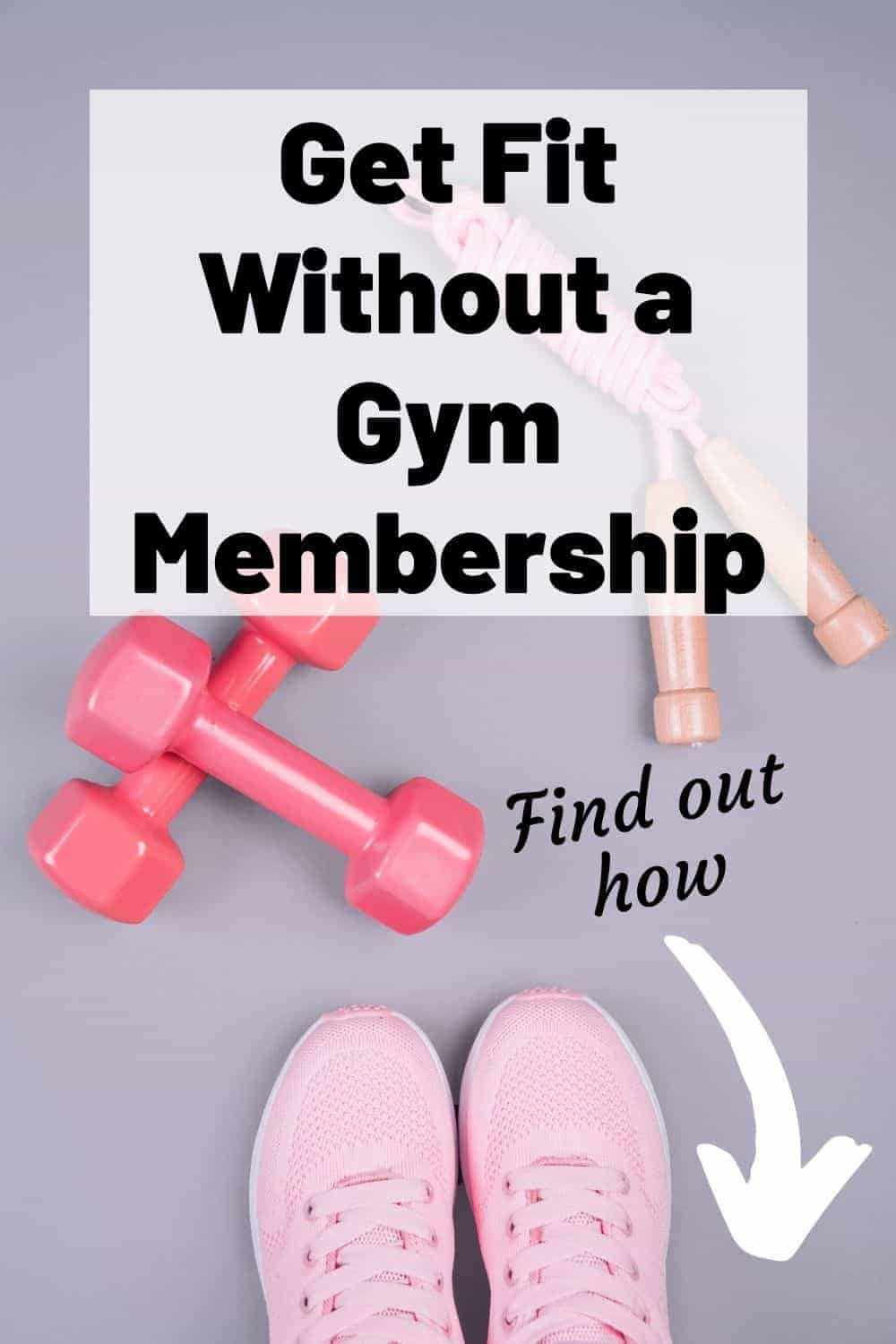 fitness equipment without a gym