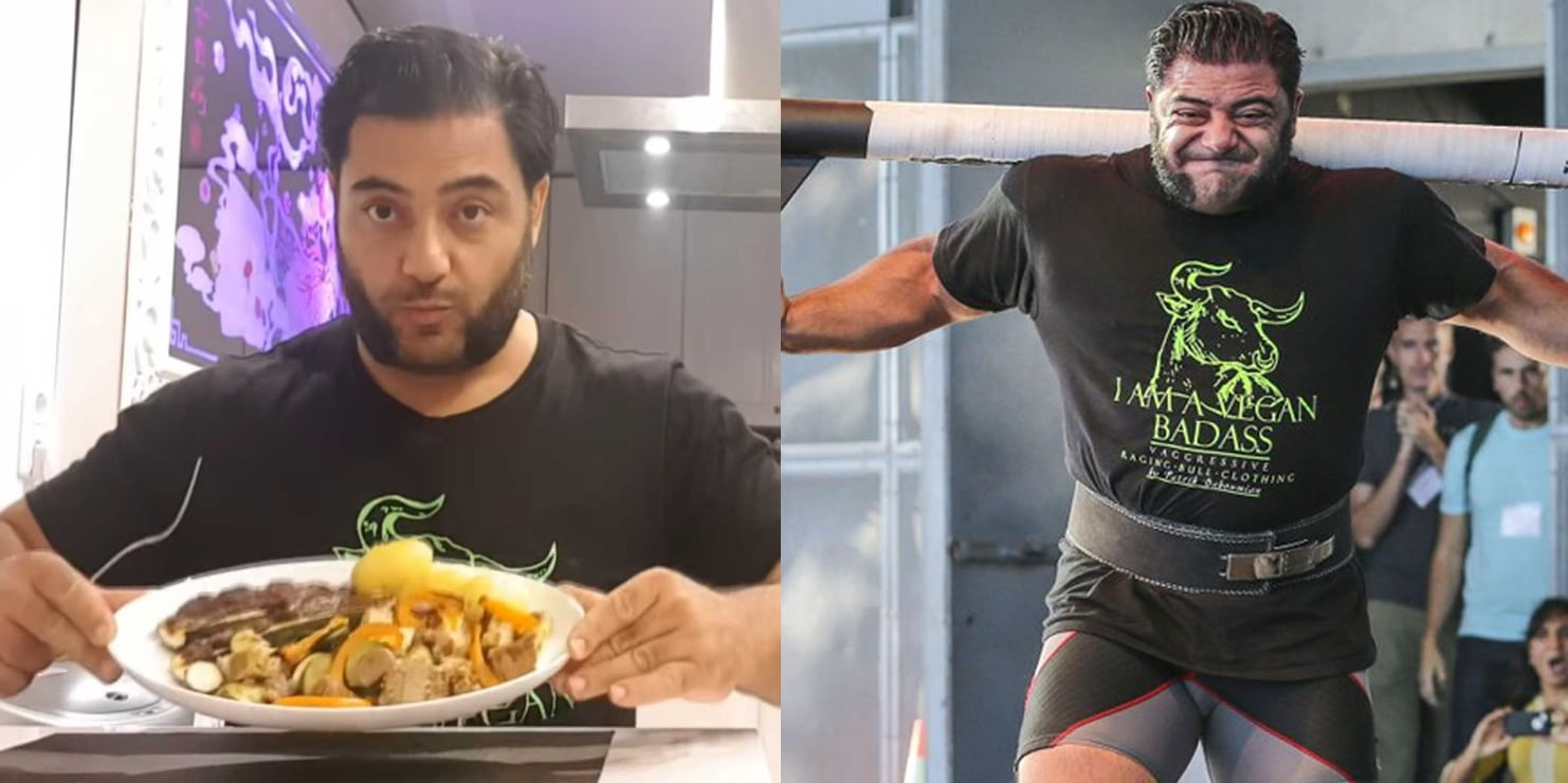 Watch What Vegan Strongman Patrik Baboumian Eats Daily