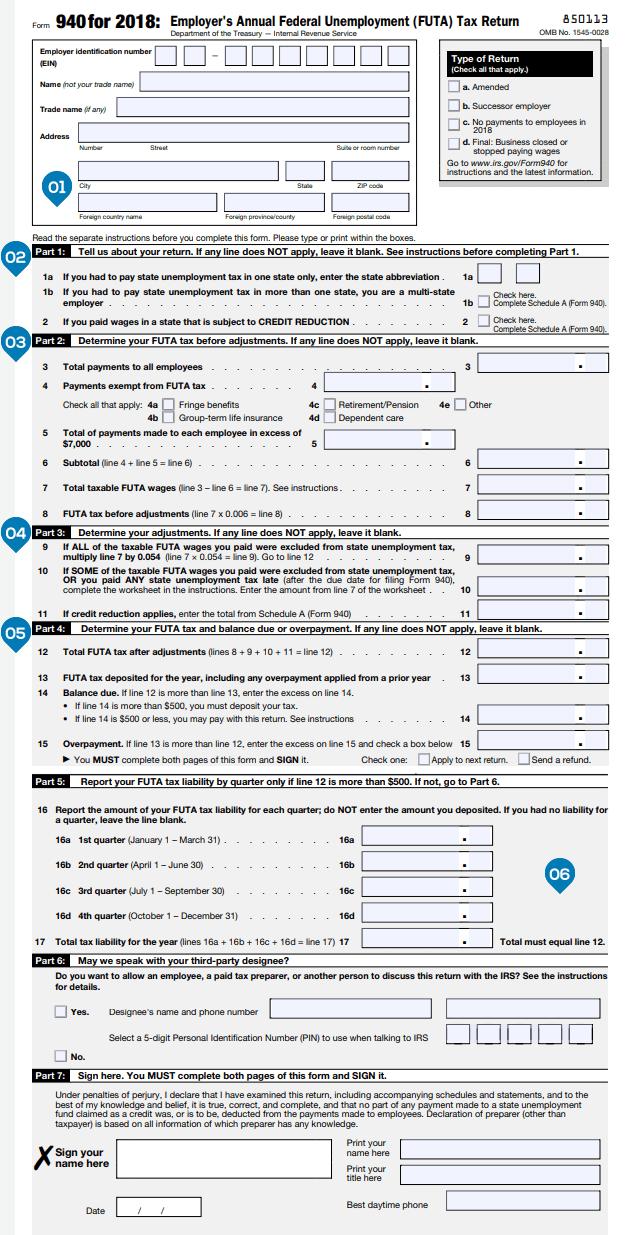 Sample Employer Identification Number