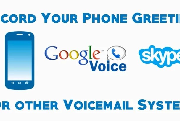 Greeting Script Voicemail