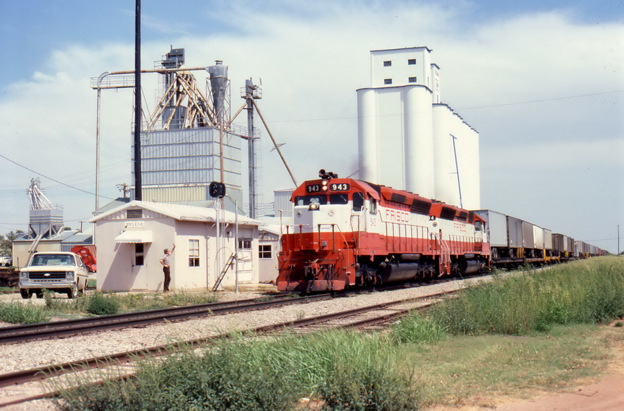 Frisco Locomotive Oklahoma City