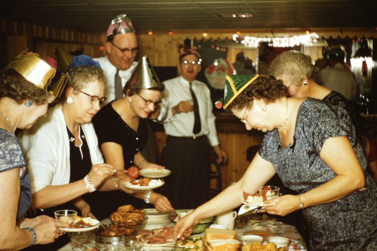 Found Photos Of Mid Century New Year S Eve Celebrations