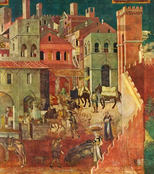 Lorenzetti S Allegory Of Good And Bad Government A