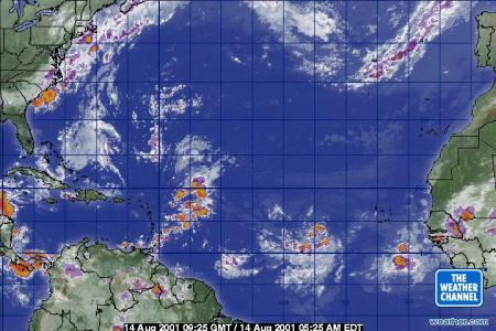 weather com   Atlantic Ocean Satellite Atlantic Ocean Satellite
