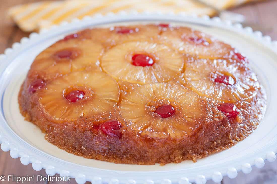 Fast Pineapple Upside Down Cake