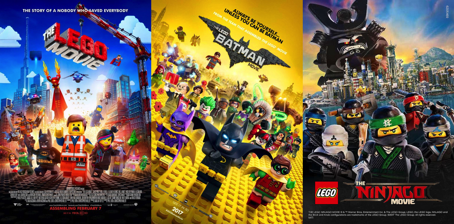 Building A Franchise  Piecing Together  The Lego Movie  Timelines